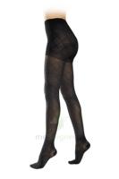 Sigvaris Styles Motifs Losanges Collant  Femme Classe 2 Noir Small Normal à Pradines