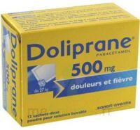 Doliprane 500 Mg Poudre Pour Solution Buvable En Sachet-dose B/12 à Pradines