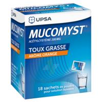 Mucomyst 200 Mg Poudre Pour Solution Buvable En Sachet B/18 à Pradines