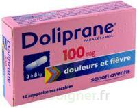 Doliprane 100 Mg Suppositoires Sécables 2plq/5 (10) à Pradines