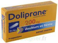 Doliprane 200 Mg Suppositoires 2plq/5 (10) à Pradines