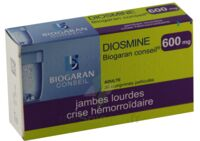 Diosmine Biogaran Conseil 600 Mg, Comprimé Pelliculé à Pradines