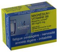 Magnesium/vitamine B6 Biogaran Conseil 48 Mg/5 Mg, Comprimé Pelliculé à Pradines