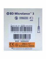 Bd Microlance 3, G25 5/8, 0,5 Mm X 16 Mm, Orange  à Pradines