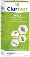Clariver Solution Buvable Toux Sèche Et Productive Adulte Fl/175ml à Pradines
