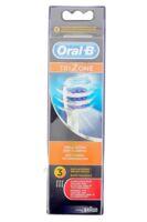 Brossette De Rechange Oral-b Trizone X 3 à Pradines