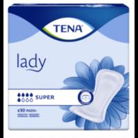 Tena Lady Protection Anatomique Adhésive Super Sachet/30 à Pradines