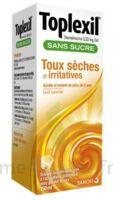Toplexil 0,33 Mg/ml Sans Sucre Solution Buvable 150ml à Pradines