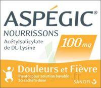Aspegic Nourrissons 100 Mg, Poudre Pour Solution Buvable En Sachet-dose à Pradines
