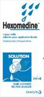 Hexomedine 1 Pour Mille S Appl Loc Fl/250ml à Pradines