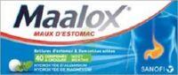 Maalox Hydroxyde D'aluminium/hydroxyde De Magnesium 400 Mg/400 Mg Cpr à Croquer Maux D'estomac Plq/40 à Pradines