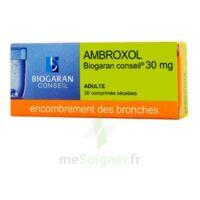 Ambroxol Biogaran Conseil 30 Mg, Comprimé Sécable à Pradines