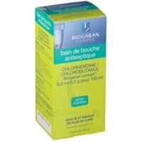 Chlorhexidine/chlorobutanol Biogaran Conseil 0,5 Ml/0,5 G Pour 100 Ml, Solution Pour Bain De Bouche Fl/200ml à Pradines