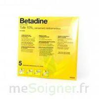 Betadine Tulle 10 % Pans Méd 10x10cm 5sach/1 à Pradines