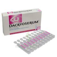 Dacryoserum Solution Pour Lavage Ophtalmique En Récipient Unidose 20unidoses/5ml à Pradines
