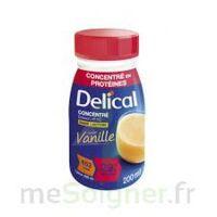 Delical Boisson Hp Hc Concentree Nutriment Vanille 4bouteilles/200ml à Pradines
