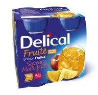 Delical Boisson Fruitee Nutriment Multi Fruits 4bouteilles/200ml à Pradines