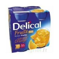Delical Boisson Fruitee Nutriment Orange 4bouteilles/200ml à Pradines