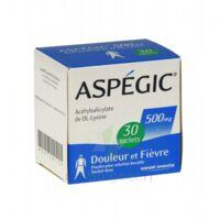 Aspegic 500 Mg, Poudre Pour Solution Buvable En Sachet-dose 30 à Pradines