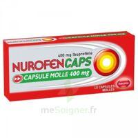 Nurofencaps 400 Mg Caps Molle Plq/10 à Pradines