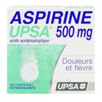 Aspirine Upsa 500 Mg, Comprimé Effervescent à Pradines