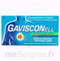 Gavisconell Coprimés à Croquer Sans Sucre Menthe édulcoré à L'aspartam Et à L'acésulfame Potas Plq/24 à Pradines