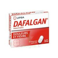 Dafalgan 1000 Mg Comprimés Pelliculés Plq/8 à Pradines