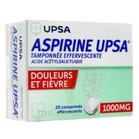 Aspirine Upsa Tamponnee Effervescente 1000 Mg, Comprimé Effervescent à Pradines