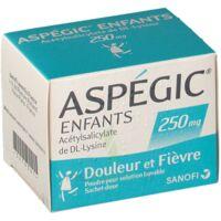 Aspegic Enfants 250, Poudre Pour Solution Buvable En Sachet-dose à Pradines