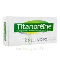 Titanoreine Suppositoires B/12 à Pradines