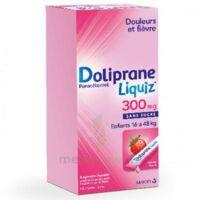 Dolipraneliquiz 300 Mg Suspension Buvable En Sachet Sans Sucre édulcorée Au Maltitol Liquide Et Au Sorbitol B/12 à Pradines