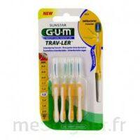 Gum Trav - Ler, 1,3 Mm, Manche Jaune , Blister 4 à Pradines