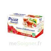 Picot Maman Tisane D'allaitement Fruits Rouges 20 Sachets à Pradines