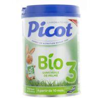 Picot Bio 3 Lait En Poudre 800g à Pradines