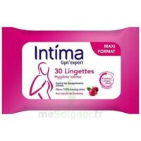 Intima Gyn'expert Lingettes Cranberry Paquet/30 à Pradines