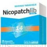 Nicopatchlib 14 Mg/24 H Dispositifs Transdermiques B/28 à Pradines