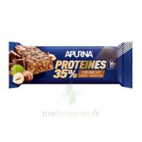 Apurna Barre Hyperprotéinée Crunchy Chocolat Noisette 45g à Pradines