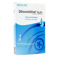 Desomedine 0,1 % Collyre Sol 10fl/0,6ml à Pradines