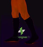 Dynaven Fin Chaussettes  Homme Classe 2 Noir Small Long à Pradines