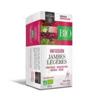 Dayang Jambes Légères Bio 20 Infusettes à Pradines