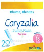 Boiron Coryzalia Solution Buvable Unidose B/20 à Pradines