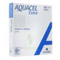 Aquacel Extra Pansement Hydrofiber Stérile 12,5x12,5cm B/16 à Pradines