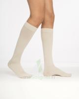 Sigvaris Essentiel Coton Chaussettes  Homme Classe 2 Sable Small Normal à Pradines