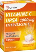 Vitamine C Upsa Effervescente 1000 Mg, Comprimé Effervescent à Pradines