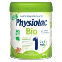 Physiolac Bio 1 Lait En Poudre B/800g à Pradines